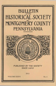 Montgomery County Historical Society Bulletin