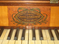 Detail of Piano by Charles Albrecht