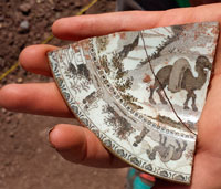 plate fragment found in 2015